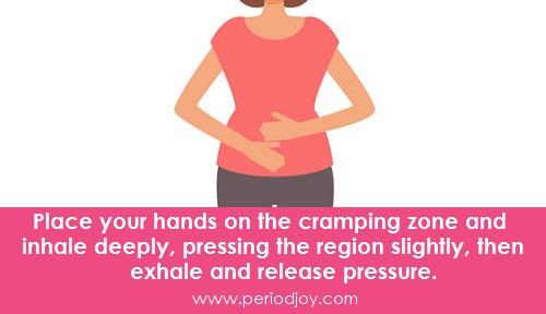 Breathing exercises for menstrual cramps