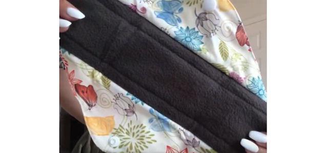 Teamoy reusable, organic cloth pads