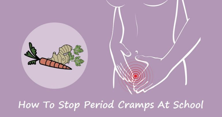 How to stop period cramps at school