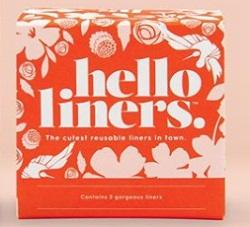Hello Reusable, Organic Panty Liners